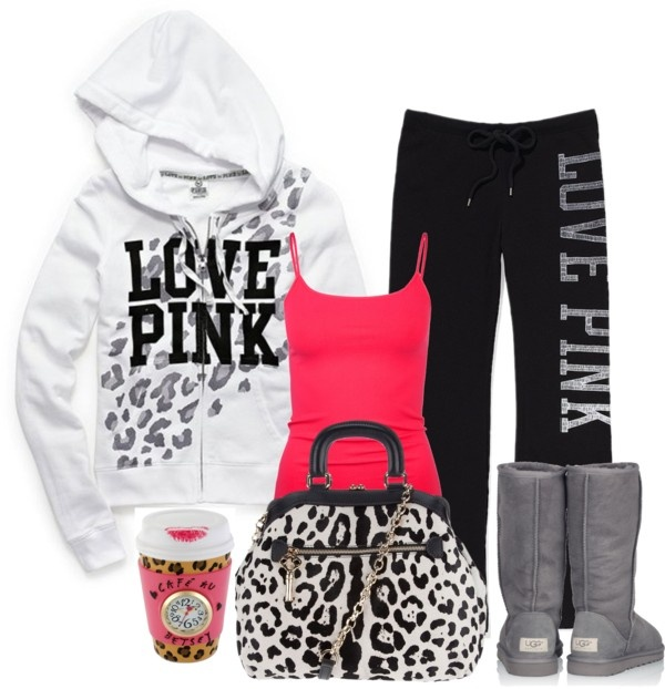 """Leopard contest"" by sweetlikecandycane ❤ liked on Polyvore"
