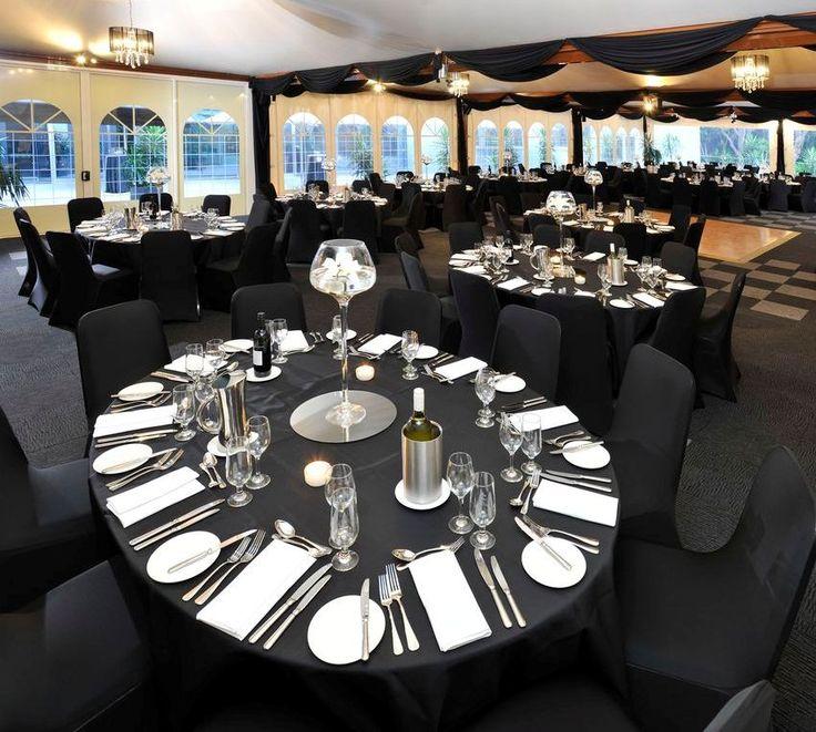 Marquee | Banquet set-up | Melbourne events | Dinner set-up