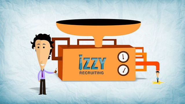 IZZY Recruiting. Video by Kasra Design.