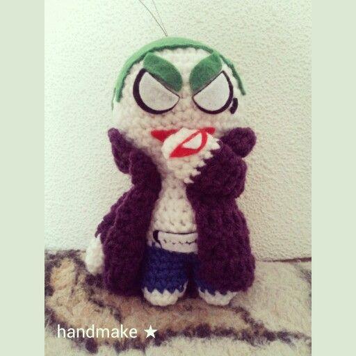 Joker action figure #handmake #handmade #actionfigure #crochet #actionfigure #instacrochet #gift #jaredleto #joker #haha #dc #dccomics #etsy #etsyfind #tatoo #ручнаяработа #игрушка #подарок #сувенир #джаредлето #диси #джокер #коллекционнаяфигурка