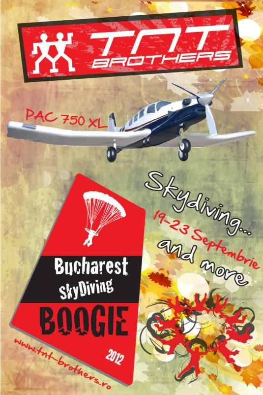 Bucharest Skydiving Boogie editia a III-a