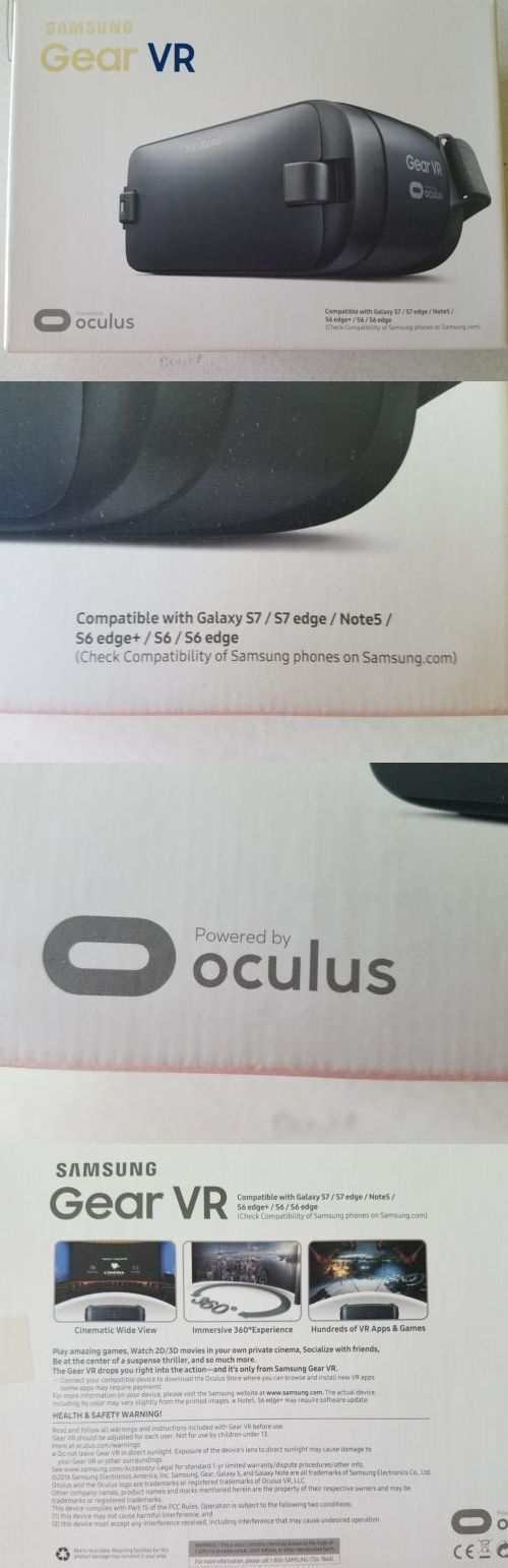 Smartphone VR Headsets: Nib Samsung Gear Vr Powered By Oculus For Galaxy S7, S6, Note5 New! Free Ship! -> BUY IT NOW ONLY: $39.99 on eBay!