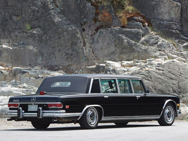 1974 Mercedes Benz 600 4-door Pullman Limousine