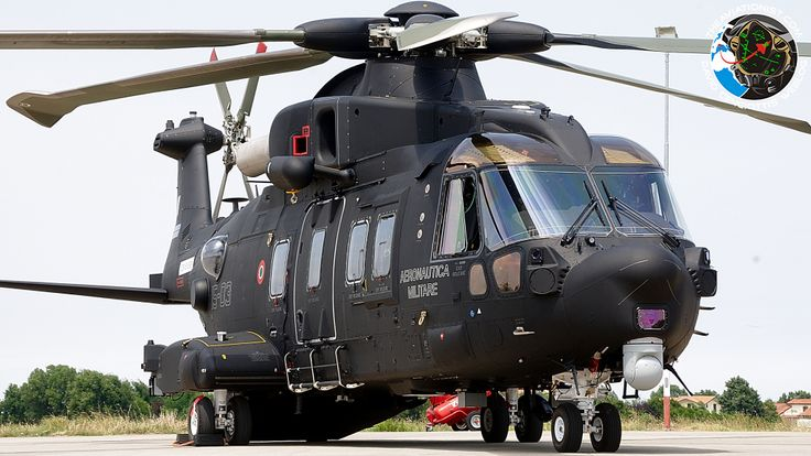 The Aviationist » First black-colored HH-101A Caesar special ops helicopter presented by the Italian Air Force