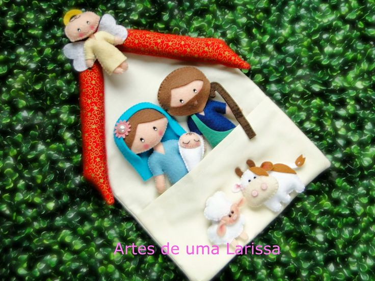 Artes de uma Larissa: Sagrada Família | Nativity Scene
