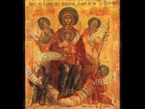 L'Hymne Acathiste à la Mère de Dieu