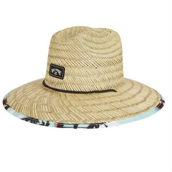 Men S Billabong Tides Print Hat Lifeguard Hat Hats Wide Brim Straw Hat