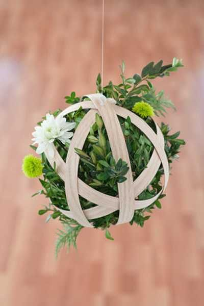 how to create hanging floral arrangements