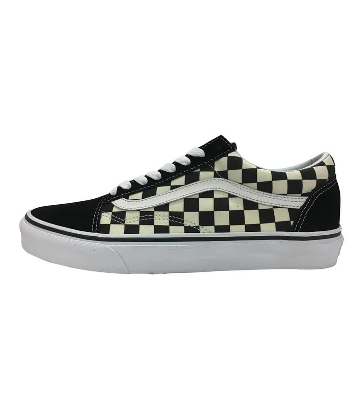 Vans Old Skool Kids Primary Check Black/White, Kids Footwear, www.oishi-m.com