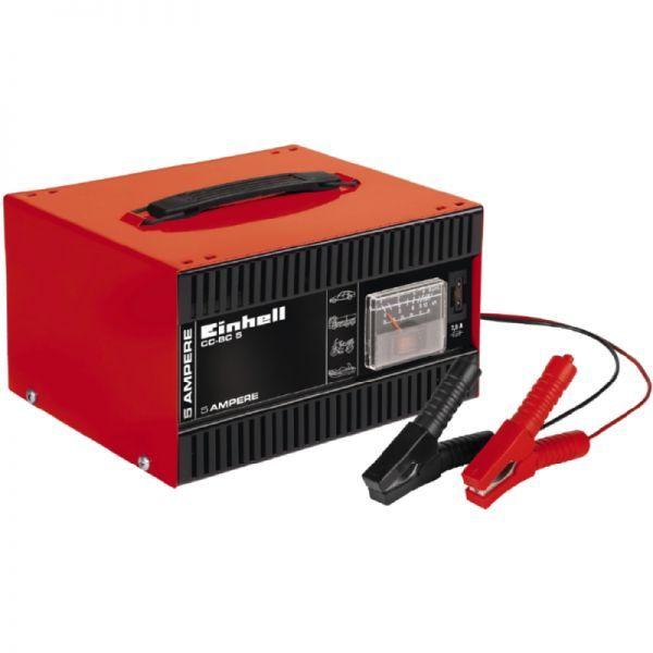 Φορτιστής Μπαταρίας Einhell CC-BC 5 | electrictools.gr