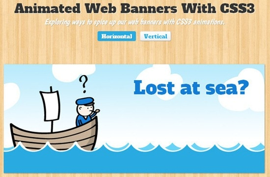 Tutorial CSS3 - Animated Web Banners with CSS3