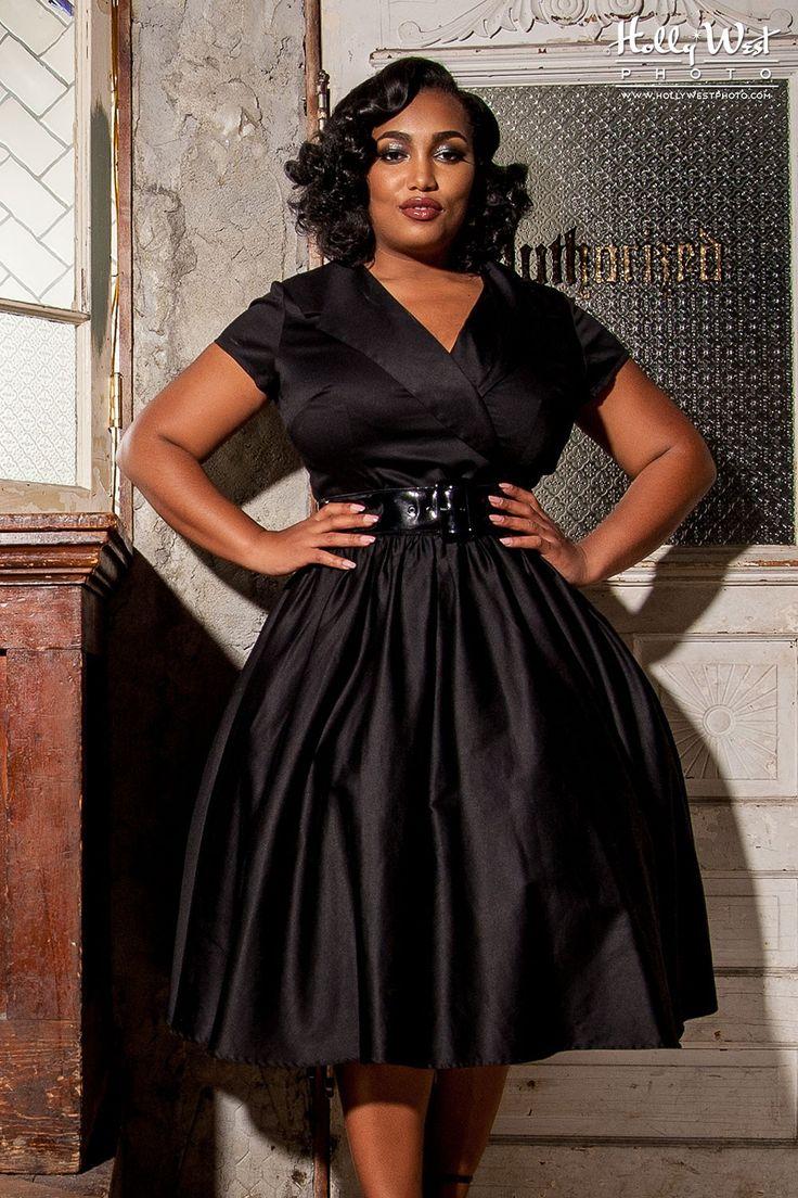 Plus size pin up style wedding dress   best Fashion images on Pinterest  Plus size fashion Curvy