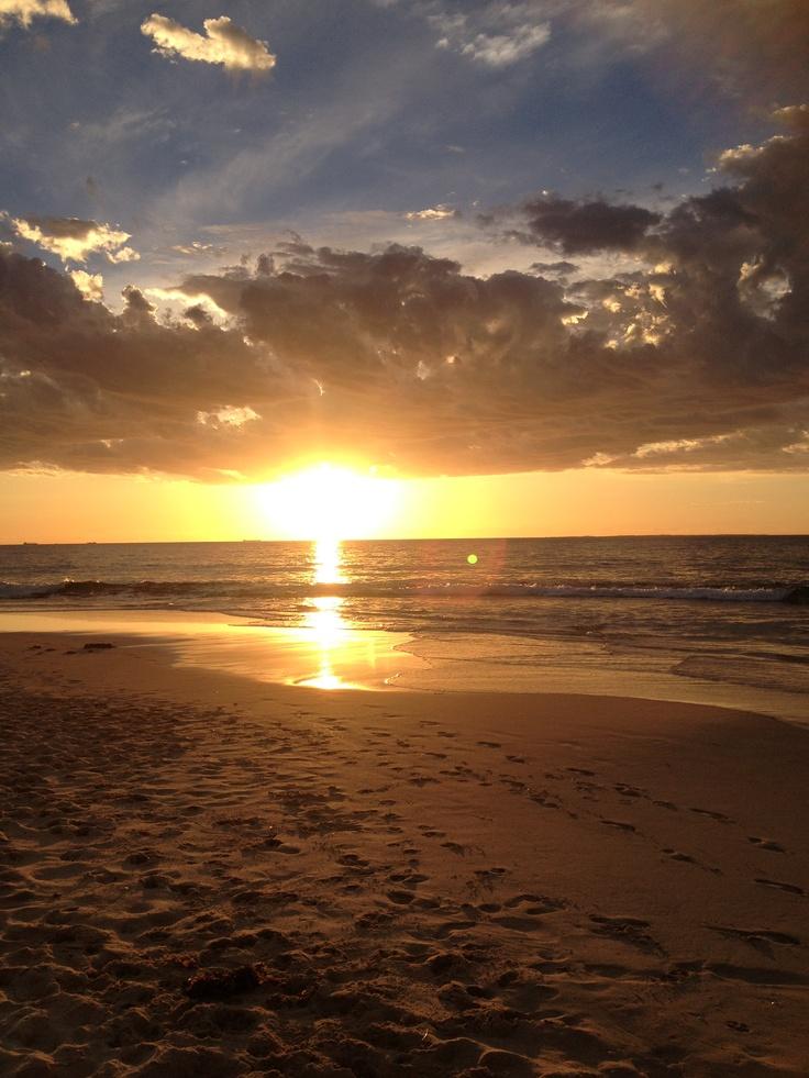Sunset - Cottesloe, WA December 2012