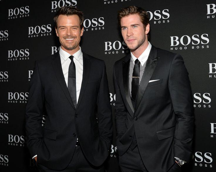 Josh Duhamel and Liam Hemsworth.