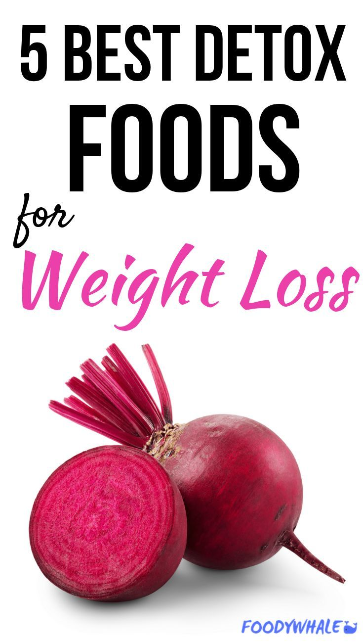 Herbs for weight loss The 5 Best Detox Food Weight Loss Tips