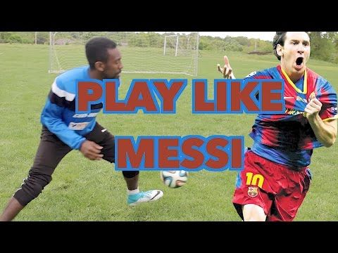 This video breaks down how to play like Messi. Get into the Body Feint, how to shoot & all sorts of Soccer Skills.