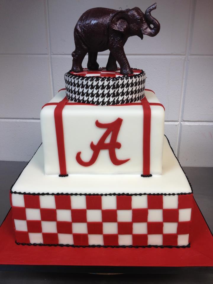 Roll Tide - cute Bama cake...@Lisette for Jim's next Birthday!