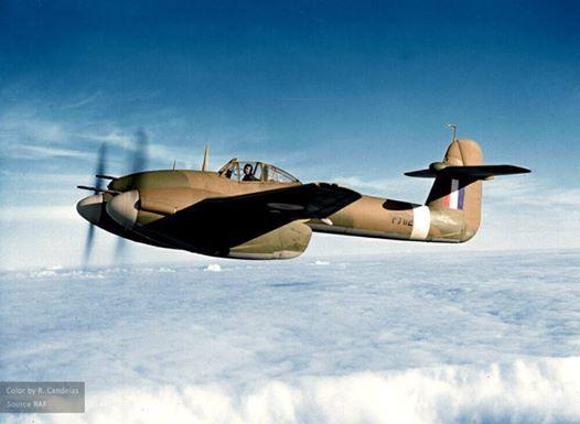 Westland Whirlwind Mk.I (P7112). circa 1941
