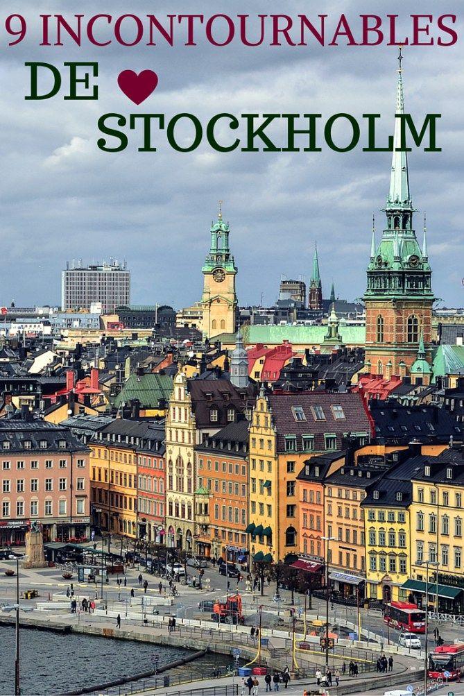 9 incontournables de Stockholm