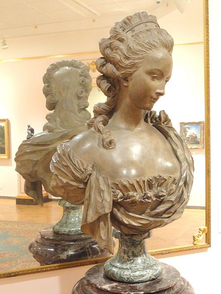 File:Bust of Madame Chauvire by Jean-Baptiste Pigalle, 1714-1785, France, terracotta - Museum of Fine Arts, Springfield, MA - DSC04086.JPG