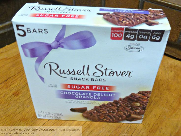 Russell stover snack bars for Food bar russell