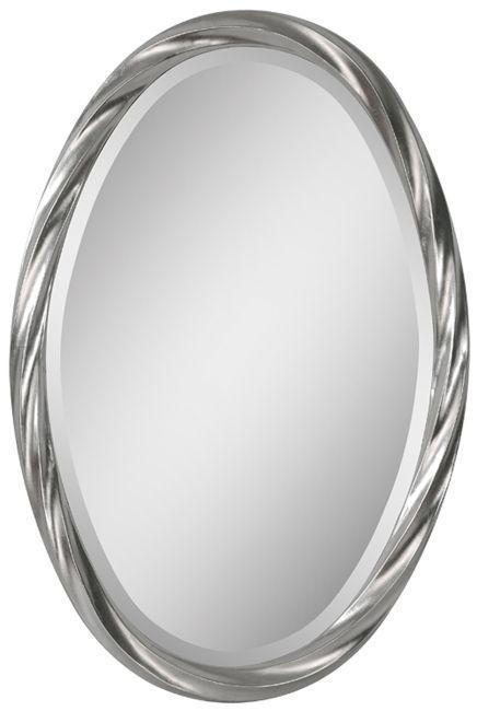 "Wilmington Twisted Frame Oval Mirror 20""x30""x1"""