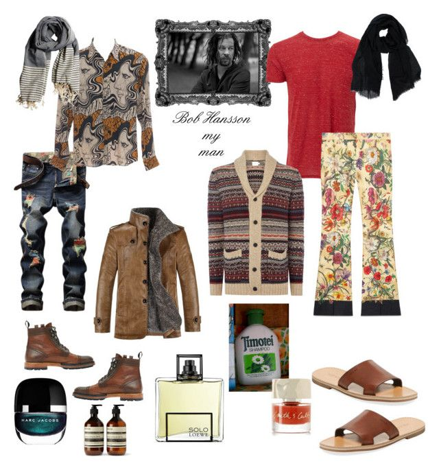 """Bob Hansson, my man..."" by dtlpinn on Polyvore featuring Lanvin, Dries Van Noten, Marc Jacobs, Aesop, Simplex Apparel, Loewe, Gucci, Prada, Smith & Cult and Pepe Jeans London"