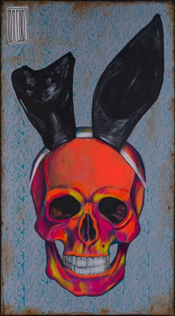 last selfie 180x100 akryl nitro na płótnie 2015 #art #popart #sztuka #skull #graffiti #streetart