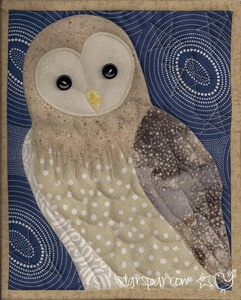 Barn owl quilt Wish i knew how to quilt so i could make for my daughter Chris.