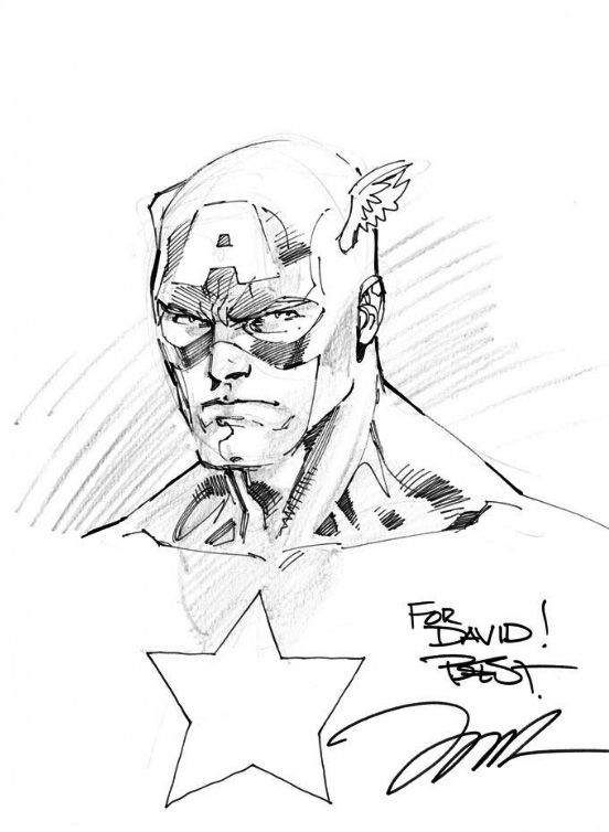Line Art Usa : Captain america sketch jim lee illustration