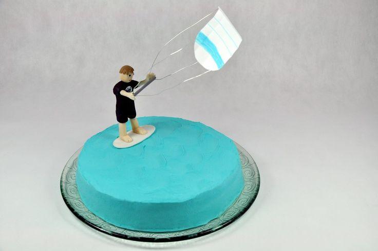 Kitesurfing cake