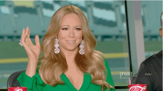 Mariah Carey is pleased