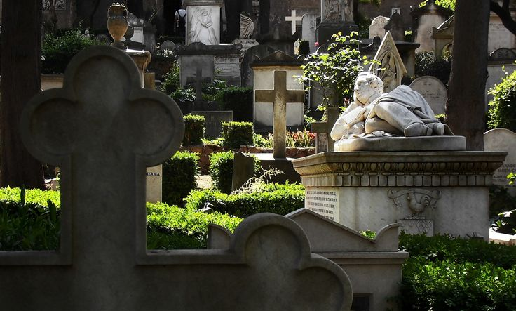 A good place for dreaming - Rome Non Cathloc Cemetery