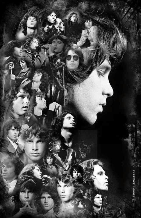 The many faces of Jim Morrison...and every one beautiful...lost talent