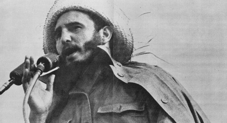 Fidel Castro-Santiago de Cuba