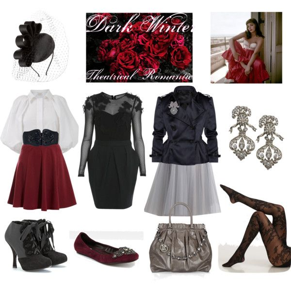 Dark Winter Theatrical Romantic By Thewildpapillon On Polyvore Theatrical Romantic Kibbe