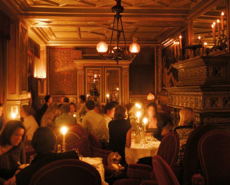Hôtel Costes - le restaurant.