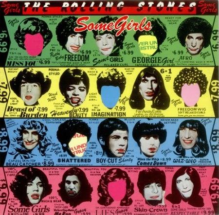 "CvA012. Rolling Stones – ""Some girls"" by Jamie Reid / Capitol records 1978 / #Albumcover"