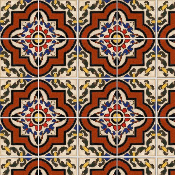 23 best images about spanish tile on pinterest for Decorative spanish tile