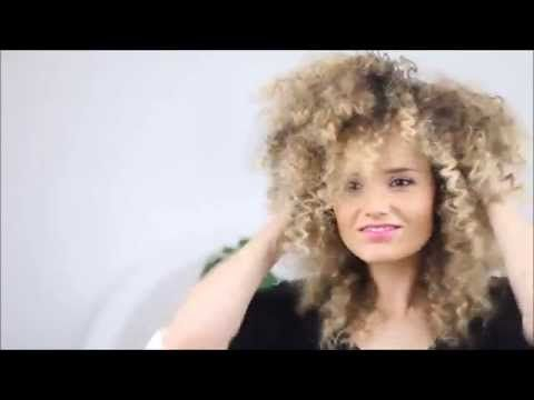 How To Make Straight Hair Into Afro Textured Hair Tutorial Featuring Eskimohair [Video]