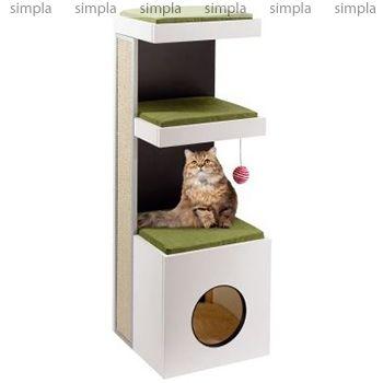 Ferplast Комплекс спально-игровой для кошки Tiger от mr-zoo