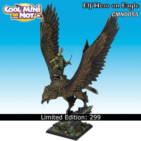 Elf On Great Eagle Limited Edition 399 Elf High Elf Eagle