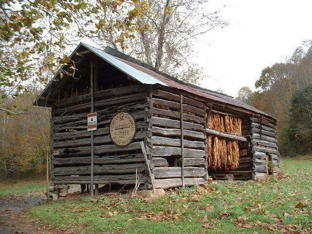 Tobacco barn... This reminds me of my GrandPa's old barn I played in as a kid.....best times of my life, wish I could go back....I love you Pa !