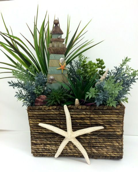 Beachy Succulent Arrangement designed by A.C. Moore Hagerstown, MD #succulent