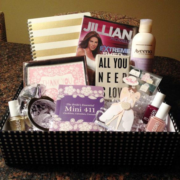 Wedding Gift For New Bride : Gift for the New Bride-to-Be Engagement gift baskets, Wedding and ...