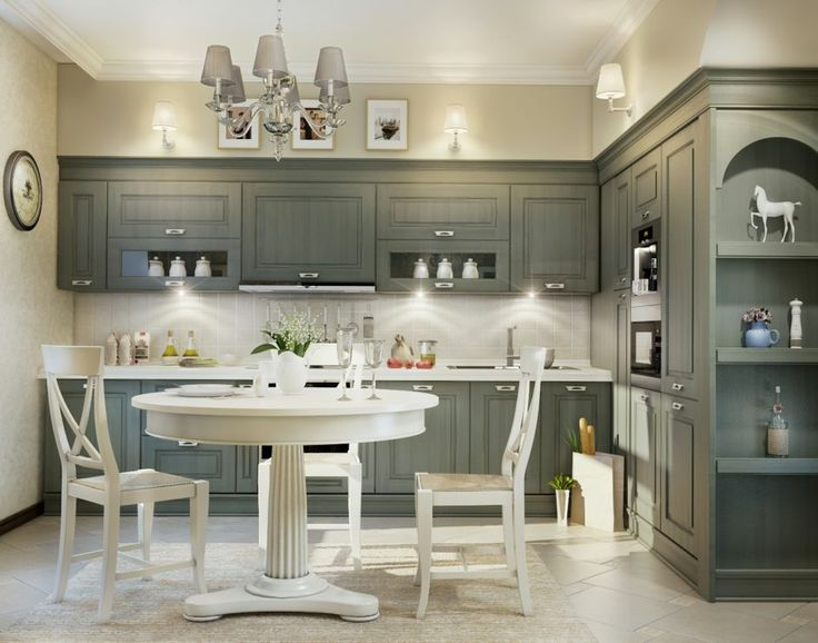 Black And White Traditional Kitchen 275 best kitchens collection images on pinterest   kitchen ideas