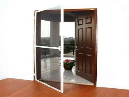 Suitable for Balconies Kitchen u0026 Main doors. Mosquito Nets can be replaced many times without the need for a new framework.  sc 1 st  Pinterest & 24 best Window Mosquito Net images on Pinterest | Mosquito net ...