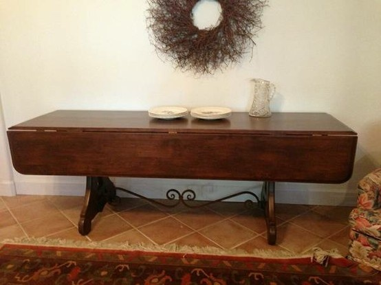 Drop Leaf Table Console Tables And Tables On Pinterest
