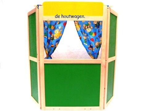 poppenkasten : Houten Speelgoed   Loopfietsen, fornuisjes, houten treinen, hobbelpaarden en meer, voor uw (klein)kind