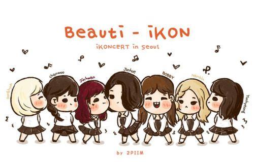 [fanart] #iKON #iKONCERTinSeoulDay2 up & down